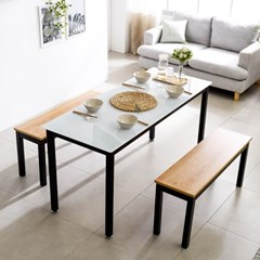 T8 로디 1500 4인식탁세트 식탁테이블 식당테이블