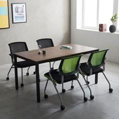 T5 로디 1500 테이블세트 미팅테이블 회의실테이블