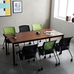 T5 로디 1800 테이블세트 회의용테이블 사무실테이블