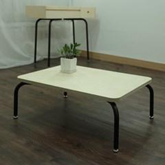 D806 자작나무 튜브 프레임 좌식 테이블