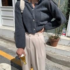 [기획] #Any place 모프 포켓 카라 가디건