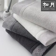 송월 도담 150g 호텔타월 4매 선물세트