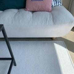 유리아 워셔블 방수 카페트 물세탁 러그매트 170x230cm