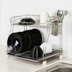 접시 컵 식기건조대 그릇보관함 원룸 싱크대 올스텐 설거지선반