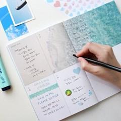 [만년형] 썸웨어 위클리 다이어리 + 포토엽서