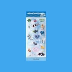 2000s Vibe Sticker_Blue