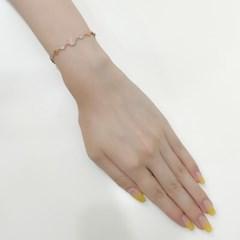 [오팔하우스]925Silver 헥사 큐빅 팔찌 OPMUB11965