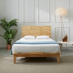 [스코나]카니건 원목 평상형 슈퍼싱글 침대(매트별도)