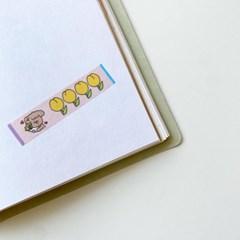 네고메 메세지버블 말풍선 마스킹테이프