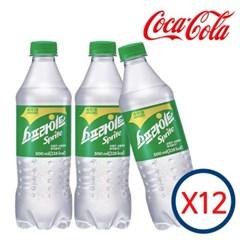 코카콜라 스프라이트 500ml X 12펫