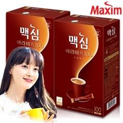 맥심 아라비카 100+100T 총200T /커피/커피믹스