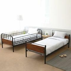 일루일루 베리드 싱글 분리형 이층침대+10cm매트+12cm매트