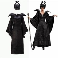 할로윈 파티복 팔레피센트 마녀 코스튬 의상 드레스 H