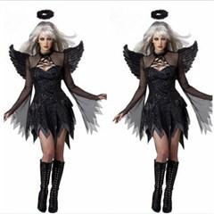할로윈 파티 천사 악마 드레스 원피스 코스튬 의상 H