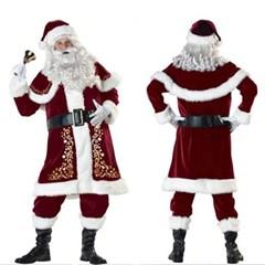 할로윈 크리스마스 산타 코스튬 드레스 파티 의상 H