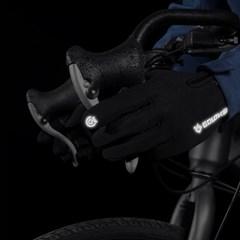 메이스 라이딩 자전거 장갑 반장갑 긴장갑 방한 겨울