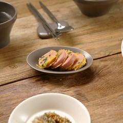 피노 타원 찬기 반찬 그릇 앞 접시