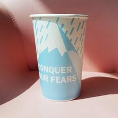 13온스 ICE&HOT 디자인 종이컵 20P (종이 접시 5P 증정)