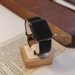 애플워치 소가죽 레더 스트랩 루프 밴드 시계줄 44mm