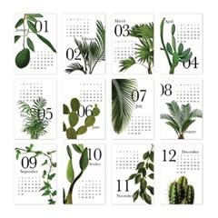[2022 CALENDAR] Botanical