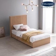 잉글랜더 티탄 호텔형 트윈 수납 침대+협탁1EA(매트제외-SS+SS)