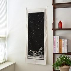 starrynight A_세로형 패브릭 포스터 / 바란스커튼