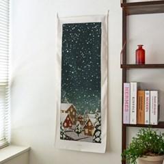 snowday_세로형 패브릭 포스터 / 바란스커튼