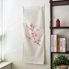 cherry blossom/벚꽃_세로형 패브릭 포스터 / 바란스커튼