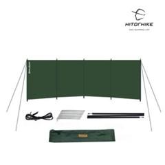 [하이토하이크] 캠핑용 바람막이 윈드스크린 사이드월