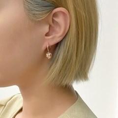 [오팔하우스]14k 통통하트 원터치 귀걸이 OPDLE53563