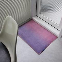 선셋 옴브레 사계절 단모러그 발매트 50x70 3colors