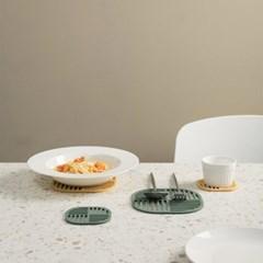 봉봉 실리콘 냄비받침대 식탁 보호 매트