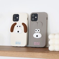 Brunch Brother 버니&퍼피 실리콘 케이스 for iphone  X/XS