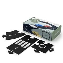 웨이투플레이 도로놀이 24피스 하이웨이 자동차 세트 교구 장난감