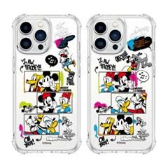 (방탄케이스) 디즈니 투게더위드 미키미니 아이폰13 Mini Pro Max
