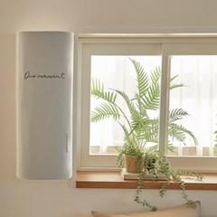 16수 워싱면 자수 창문형 에어컨커버 모먼트 2colors (파세코형/삼성