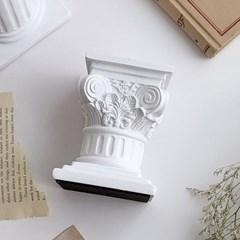 그리스 기둥장식 화이트 로마기둥 인테리어소품