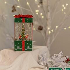 크리스마스 선물상자 오르골 (red/greed)