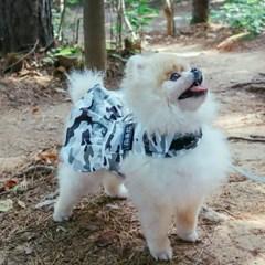 댕댕이 유격대 화이트, 원피스 강아지하네스