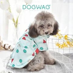 도그웨그 세모네모 기모 잠옷 강아지 겨울 옷