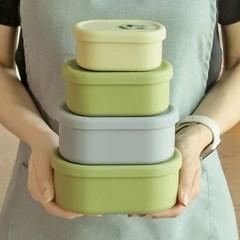 실리콘 냉동밥 보관용기