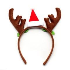 사슴 뿔 머리띠(21cm) 크리스마스 소품