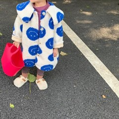 블루스마일양털자켓