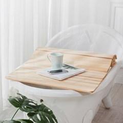 욕조덮개 테이블 700x1000 반신욕판 히노끼 편백나무 가리개