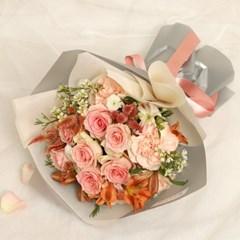 러블리 꽃다발 (생화, 전국택배)