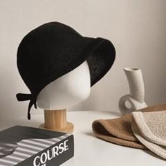 라인 보넷 벙거지 모자 3color