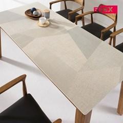 자밀라 아트세라믹 원목 6인 식탁(의자제외)