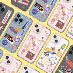 아이폰 13 프로 맥스 에잇몬스터 필링 클리어 하드 울트라핏 케이스