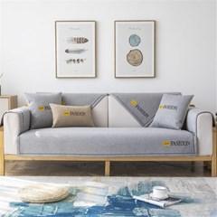 북유럽풍 소파 덮개 커버 패브릭 쇼파 쿠션 패드 리폼  H