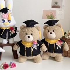 [수능졸업선물]리코 테드 졸업식 학사모 미니코사지